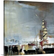 'Industrial Revolution I' by Terri Burris Painting Print on Canvas