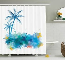 East Urban Home Coconut Palm Trees Shower Curtain