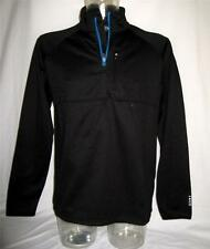 NEW IZOD XFG Cool-FX Mens L/S 1/4 Zip M XL Black Windbreaker Wind shirt NWT $88