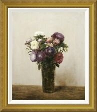 Global Gallery 'Vase De Fleurs' by Henri Fantin-Latour Framed Painting Print