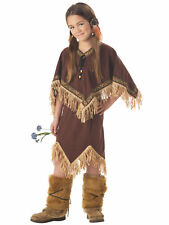 Princess Wildflower Pocahontas Indian Native American Western Girl Costume