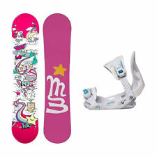 Millenium 3 Halo 3 Solstice Girls Snowboard and Binding Package