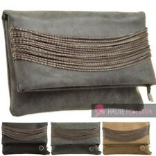 LADIES NEW FAUX LEATHER ZIP DETAIL FLAP COMPARTMENT CROSS-BODY BAG