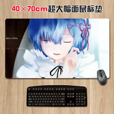 Anime Large Mousepad Game Mats Play Mat Re:Zero Rem Christmas Gift Mouse Mat New