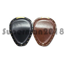 Front Solo Seat Cover Cafe Racer For Harley Sportster 883 XL Bobber Chopper Cust