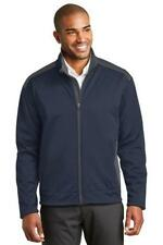 Port Authority  Mens Two-Tone Soft Shell Jacket Polyester Full Zip Jacket J794