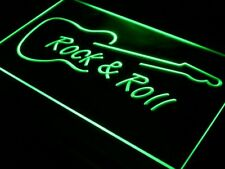 i303-g Rock and Roll Guitar Music NEW Neon Light Sign