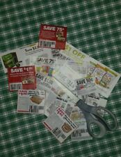 Grocery Coupons (at least 12 & all human food) Cut For You