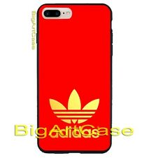 Best Adidas Gold Logo Red Print On Hard Plastic Case Cover iPhone 7 and 7 plus