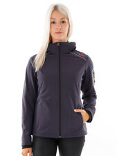 CMP Softshell Functional Jacket ZIPHOODIE Dark Grey Windproof