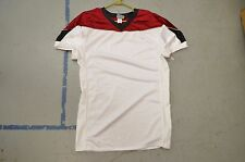 BLANK WHITE Maroon/Black Trim Authentic Arena Fantasy Football League Jersey