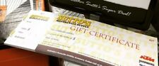 Suttos 'Chose Your Value' Gift Voucher Certificate