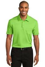 Port Authority Mens Silk Touch Dry Fit Pocket Polo Shirt Basic Golf Shirt K540P