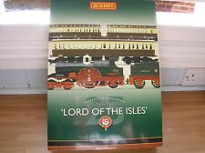 Hornby R2560 Lord of the Isles 25th Anniversary Train Pack DCC Ready Mint Boxed