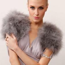 Ostrich Feather Girls Bolero Wedding Furry Fur Jacket Vest Variety of Colors New
