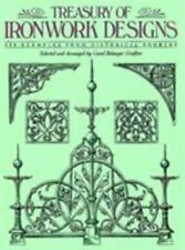 Treasury of Ironwork Designs : 469 Examples from Historical Sources (1992, Pbk)