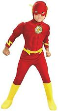 DC Comics Deluxe Muscle Chest The Flash Costume,NEW