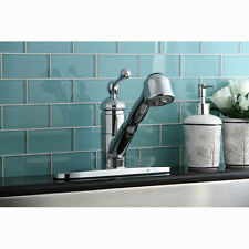 Kingston Brass Vintage Single Handle Centerset Pull-Out Kitchen Faucet