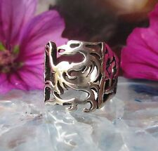 Ring dragon Sterling Silver 925 dragon Mythical creatures Mythology