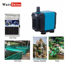 Submersible Water Circulating Pump Fish Tank Power Fountain Aquarium Hydroponic