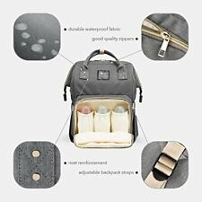 Diaper Bag Backpack Baby Care Multi-Functional Baby Nappy Changing Bag Large