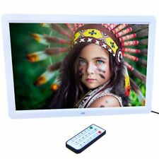 """15"""" LED HD High Resolution Digital Picture Photo Frame + Remote Controller ED"""