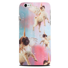 Pug Funny Unicorn phone case cover Apple Iphone 4 Galaxy S7 S5 gift s6 S4 Cute