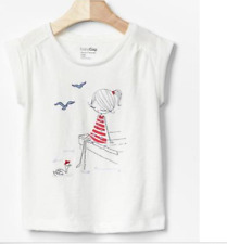 BABY GAP GIRL EMBELLISHED GRAPHIC TEE SHIRT NWT 12-18M, 18-24m nwt