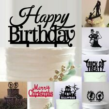 Exquisite Birthday/ Wedding/ Halloween/Christmas Party Cake Plug-in Vogue Decor