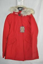 NEW WOOLRICH ARCTIC PARKA WMS RED INSULATED JACKET S-XL JOHN RICH BROS FAST SHIP