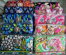 NWT Vera Bradley TURN LOCK WALLET ~ your pattern choice ~ some recent, many HTF