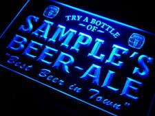pn-tm Name Personalized Custom Best Beer Ale Home Bar Pub Neon Sign