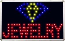 led106 Jewelry Shop OPEN Led Neon Sign