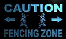 m560-b Caution Fencing Zone Neon Light Sign