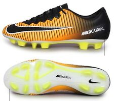 Nike Men Mercurial Vapor XI HG-V Cleats Soccer Football Black Spike 831959-801