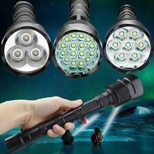 Security Flashlight Tactical 80000LM 16x T6 LED 5Mode 18650 Torch Lamp Light hot