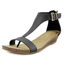 Kenneth Cole Reaction Great Step Women  Open Toe Leather  Wedge Sandal