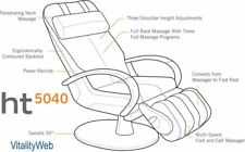 Refurbished Human Touch HT-5040 WholeBody Massage Chair Back Stretching Recliner