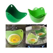1 x Silicone Egg Poacher Poaching Poach Cup Pods Mould, MULTI - COLOURED, cook