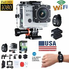 """2"""" Action Video Camera 1080P 30fps FHD Sports WIFI Cam with Wrist Remote Control"""