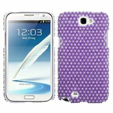 Rhinestone Diamond Bling Hard Snap-in Case Cover for Samsung Galaxy Note II