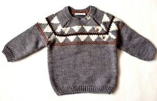 Next Baby Boy`s Grey Jumper Sweater Size Up to 3mths,12-18mths