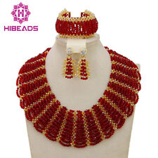 Christmas Gift Chunky African Costume Jewelry Sets,Nigerian Wedding Necklace Set
