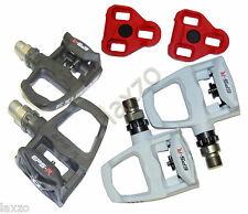 Exustar E-PR100PP Look Keo Road Bike Pedals White Bicycle Cycle Racing Pedal New