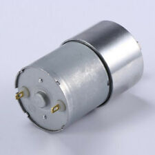 DC 24V 7-960 rpm Reduction Geared Motor Low Speed Electirc Motor for DIY