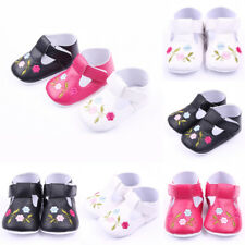 US Stock Newborn Infant Toddler Baby Boy Girl Soft Sole Crib Shoes Sneaker -12M