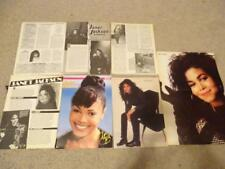 Janet Jackson teen magazine pinups clippings Lot Bop Tiger Beat Teen Beat