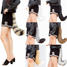 Funny Faux Fur Costume Lovely Tail Halloween Cosplay Fox Wolf dog Fursuit Tail