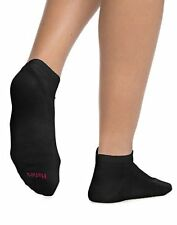 Hanes ComfortBlend Women's Low-Cut Socks Assorted 6-Pack