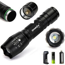 20000LM XML T6 5-Mode Waterproof Zoomable LED Flashlight 18650BTY Torch Lamp